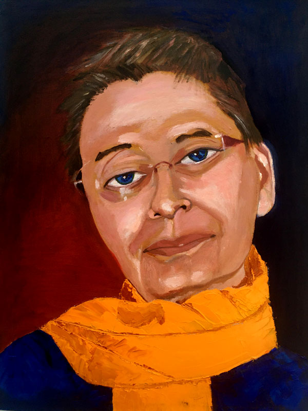 Self-Portrait Karin Merx, Reconciliation