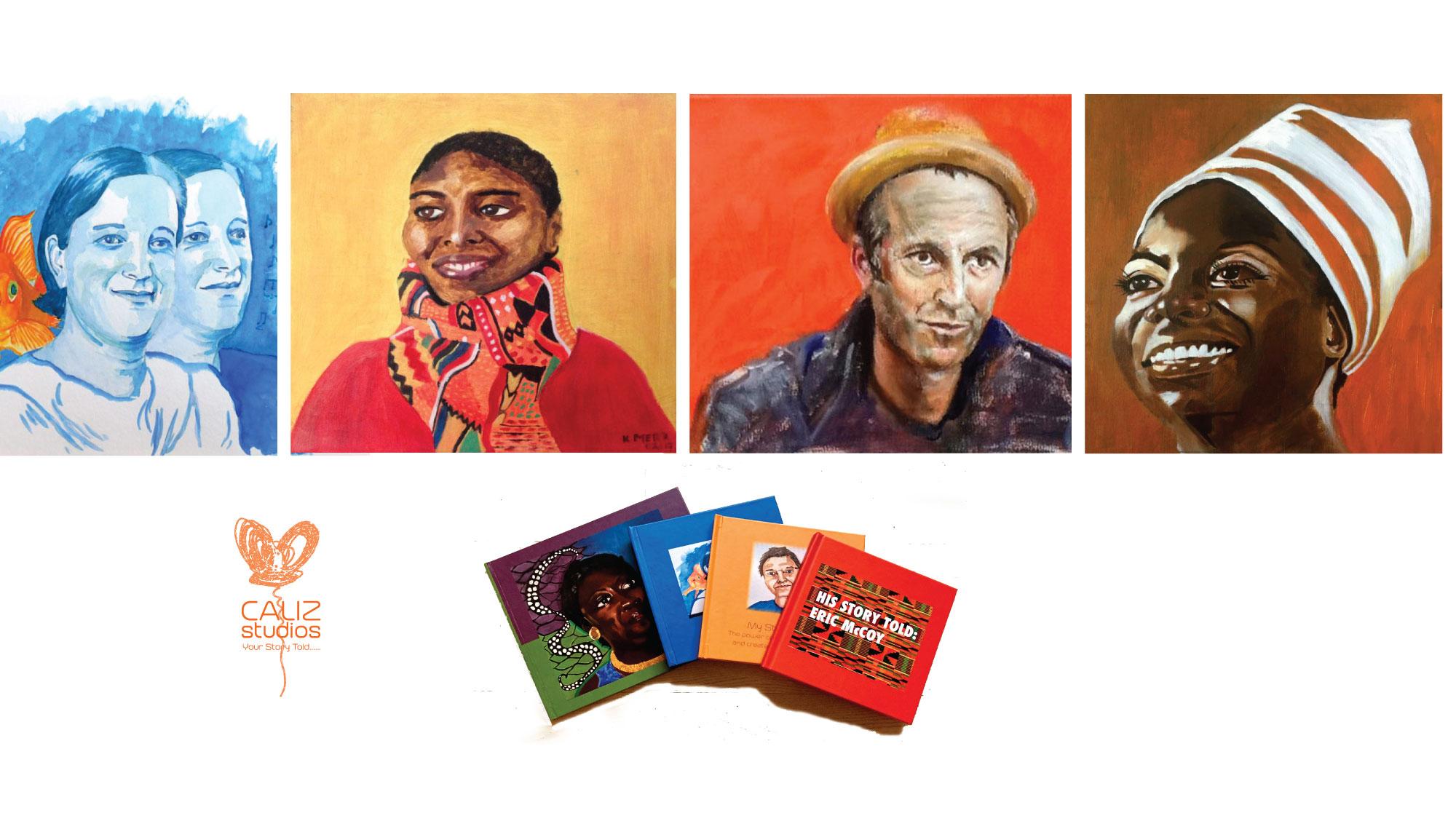 Portraits & Art Books